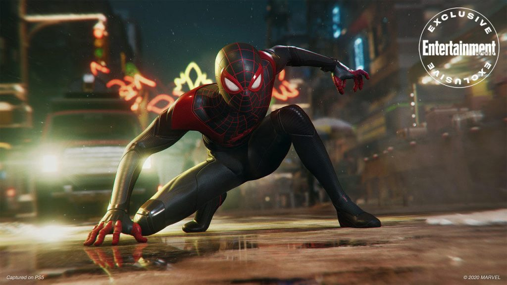 Marvel's Spider-man Miles morales Sony ps5 top game 2020 2021