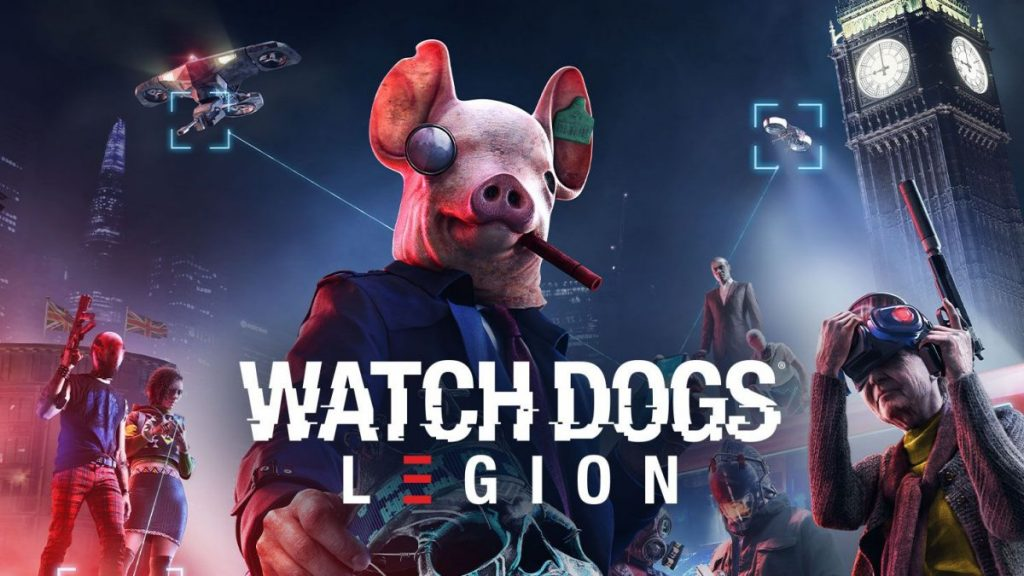 Watch dogs legion sony ps5 xbox ps4 pc top game 2020 2021