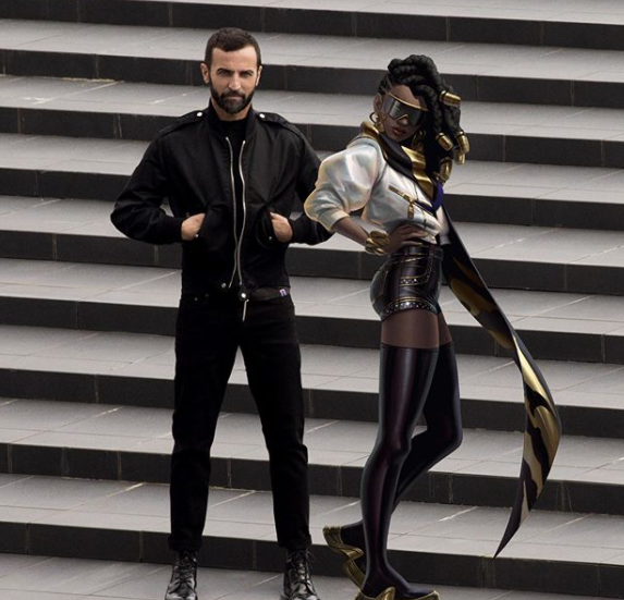 Fashion giant Louis Vuitton designed an outfit for one of League of Legends' characters for the finale event