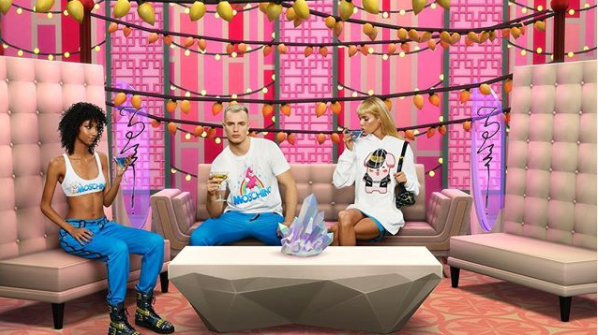 The collaboration between fashion house Moschino and The Sims includes a range of Sim-like clothing