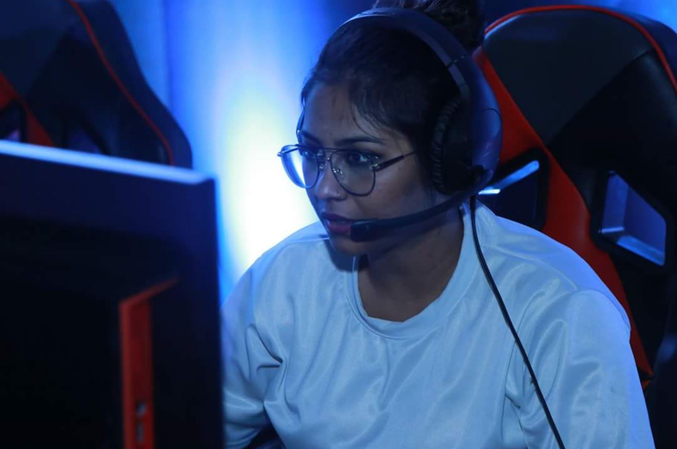 Vidushi Mogambo Singh Suryavanshi gamer girl in India